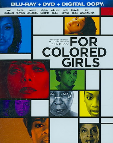 FOR COLORED GIRLS BY JACKSON,JANET (Blu-Ray)